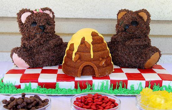 Teddy Bear Party Cake