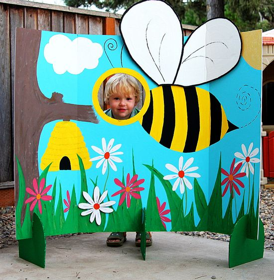 Bumble Bee Party Photo Board