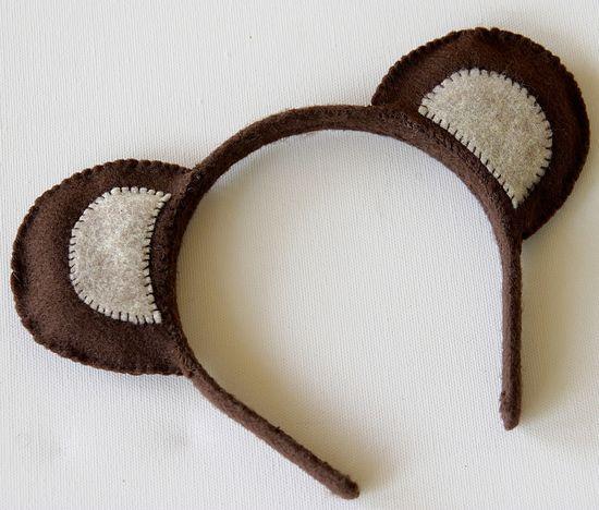 Teddy Bear Ear Headband