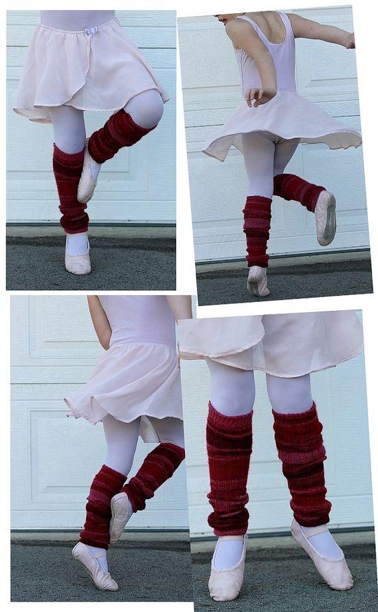 Socks to Leg Warmers