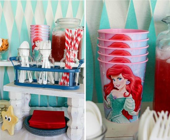 Disney Princess: The Little Mermaid movie viewing party #DisneyPrincessPlay #shop #cbias