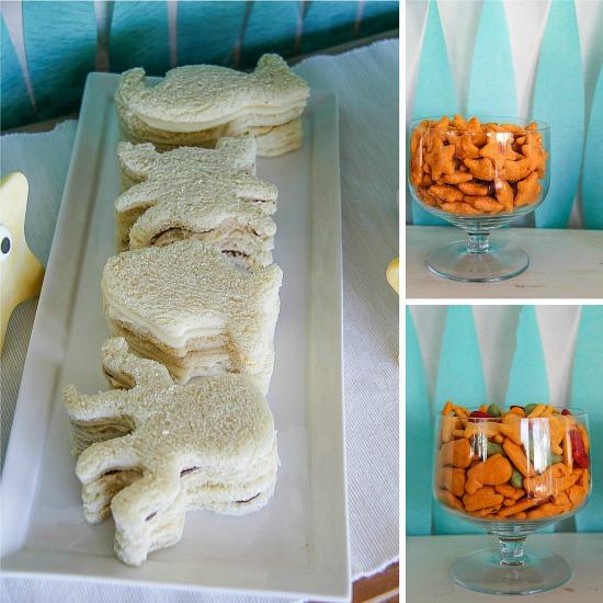 Under the Sea party treats