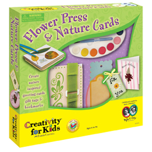 Flower Press Nature Cards