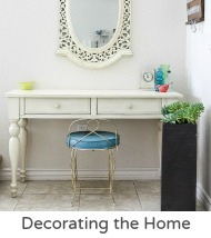 Decorating the home