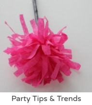 Party tips and trends