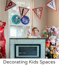 Decorating kids spaces