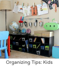 Organizing tips kids