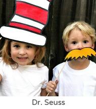 Dr Seuss photo props